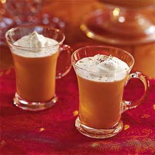 Eggnog-Coffee Punch.