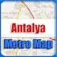Antalya Turkey Metro Map Offline