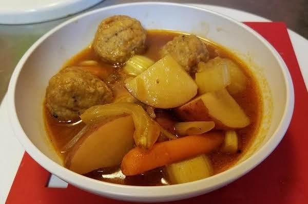 Souper-simple Meatball Stew Recipe