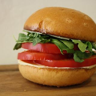 (RED) Heirloom Tomato Sandwich