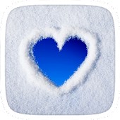 Heart Snow Theme