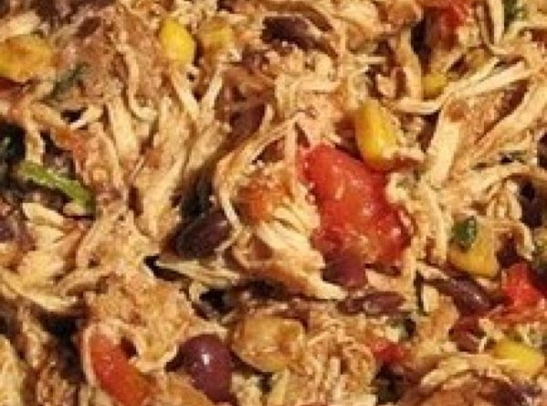 Pollo Facil - (easy) Crockpot Chicken Recipe