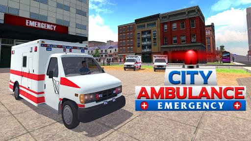 ヒル救急車シム3Dを登ります