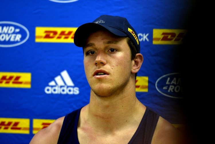 JD Schickerling during the DHL Western Province training session and press conference at High Performance Centre on October 24, 2017 in Cape Town, South Africa.