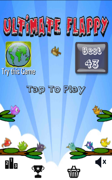 Ultimate Flappy- screenshot