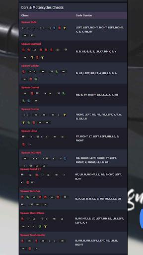 CHEAT CODES FOR GTA V screenshot 5