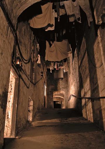 Vista al interior del callejon