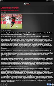 Sport/Voetbalmagazine HD screenshot 13