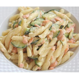 Lemon Pasta With Salmon