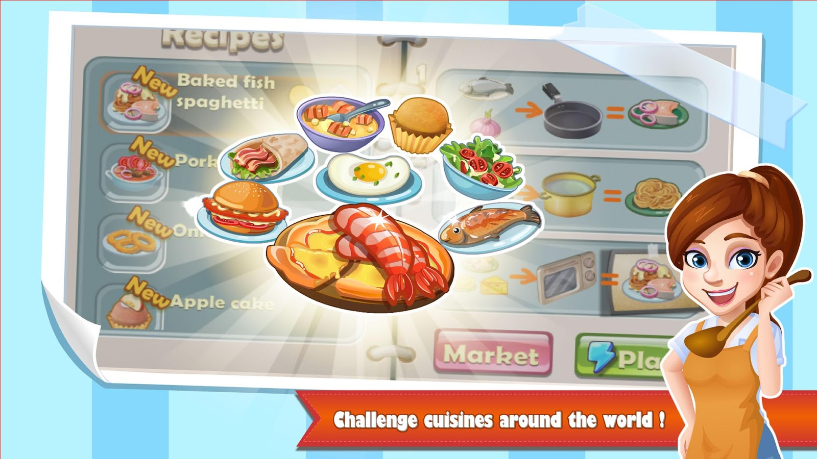Game to cook - Rising Super Chef Cooking Game Screenshot