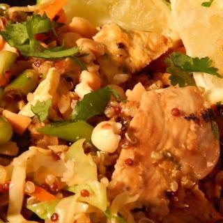 Pad Thai Quinoa Bowl.