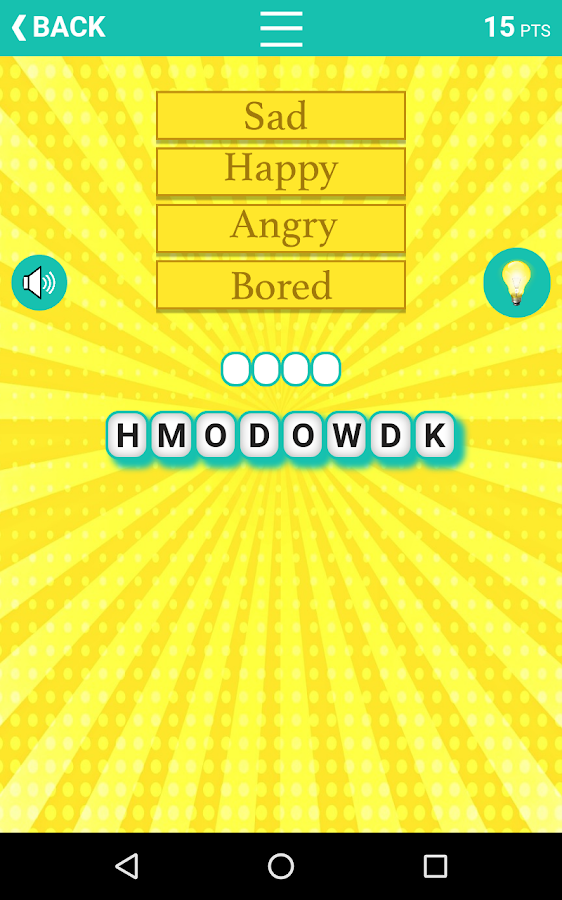 Guess the Word Association- screenshot