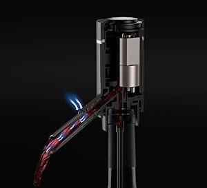 Dispenser automat pentru sticla de vin, aerator electric