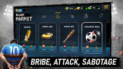 Underworld Football Manager - Bribe, Attack, Steal 5.8.04 screenshots 5
