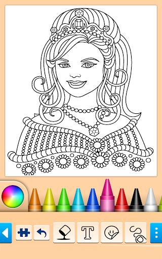 Princess Coloring Game screenshots 8