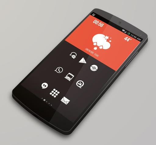 Plain - Icon Pack  screenshots 4