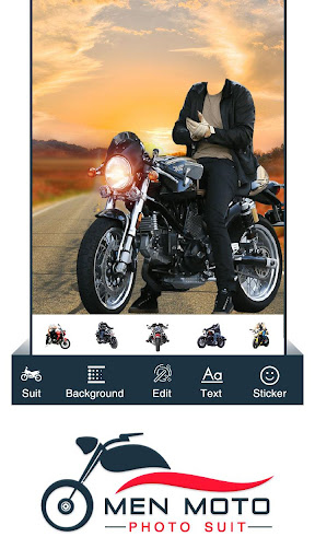 Men Moto Photo Suit : Bike Photo Editor 1.0 screenshots 2