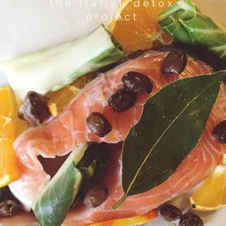 Salmon & Orange Detox Fish Packet