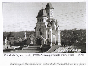 Photo: Catedrala in jurul anului 1940 sursa: extras din volumul autorilor: R.M.Neagu,G.Marchis,G.Gotea - Catedrala din Turda, 80 de ani de la sfintire