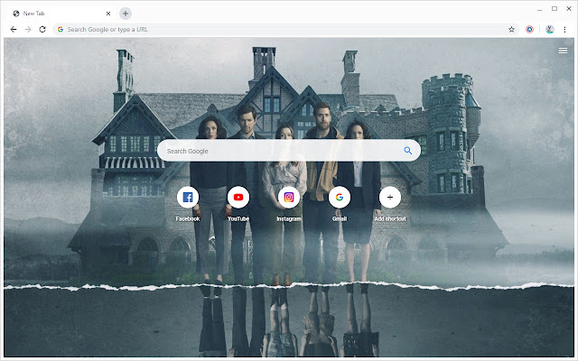 New Tab - The Haunting of Hill House