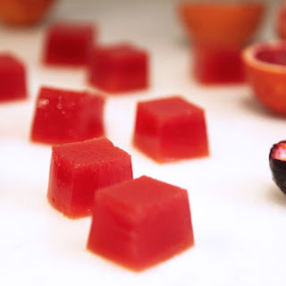 Blood Orange And Passionfruit Jelly