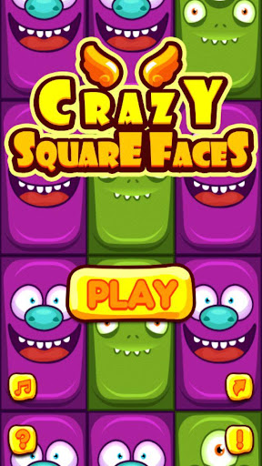 Crazy Square Faces