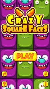 Crazy Square Faces - náhled