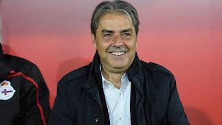 El entrenador del Depor.