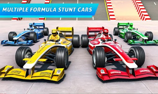 Formula Car GT Racing Stunts- Impossible Tracks 4