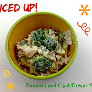 Mexican Spiced Broccoli and Cauliflower Salad.