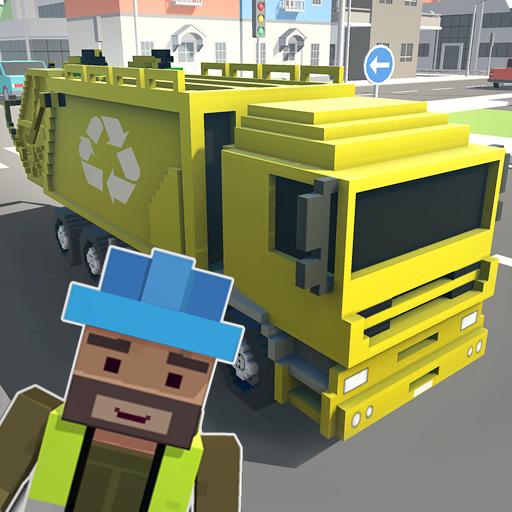 Mr. Blocky Garbage Man SIM (game)