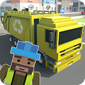 Mr. Blocky Garbage Man SIM