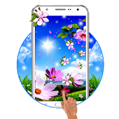 Spring Flower Live Wallpaper