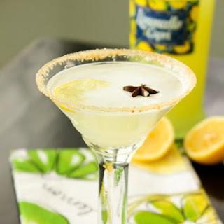 Lemon Meringue Cocktail.