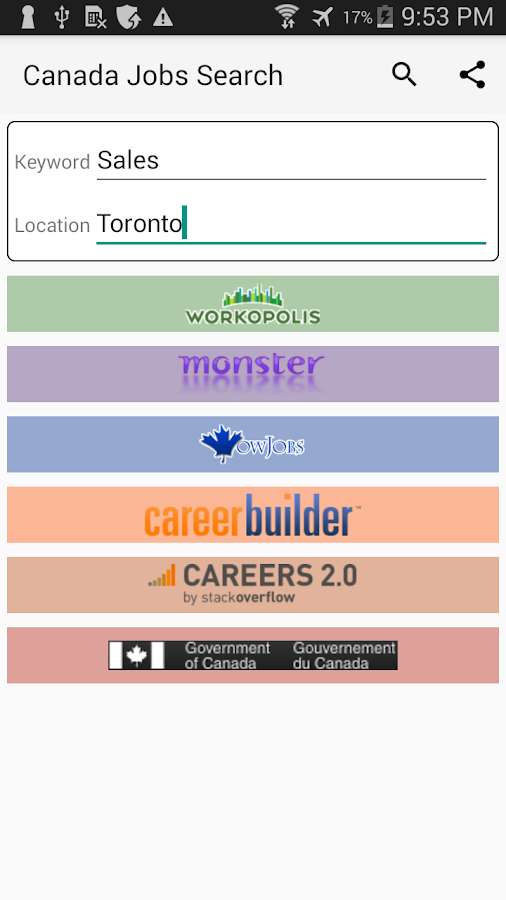 canada jobs search android apps on google play