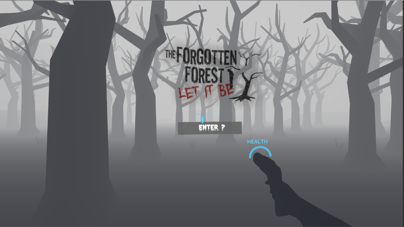 The Forgotten Forest - VR Game- screenshot