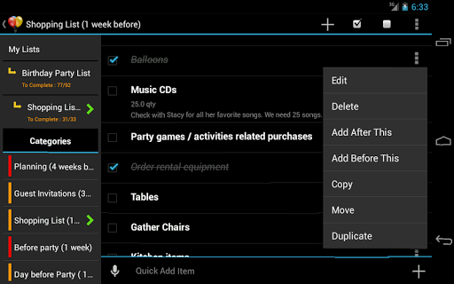 Screenshot for Birthday Planner in United States Play Store