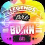 😎 Legends Are Born In – Sticker App 😎