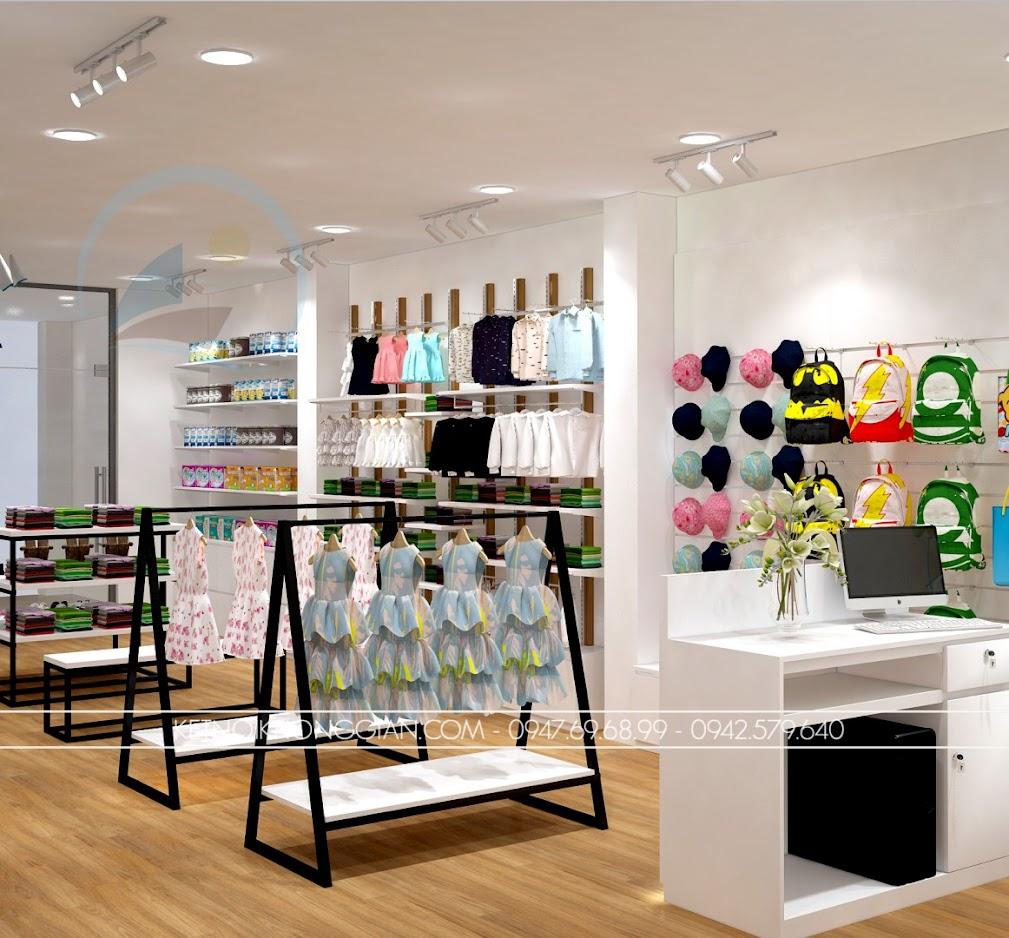 thiết kế shop thời trang trẻ em giá rẻ 5