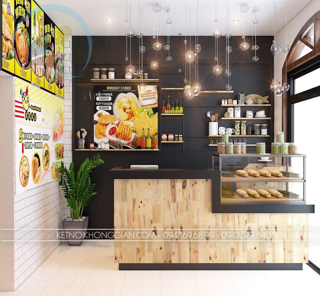 thiết kế cửa hàng gà rán đài loan 3
