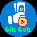 Gik Gok - Video Status And Reward Points icon