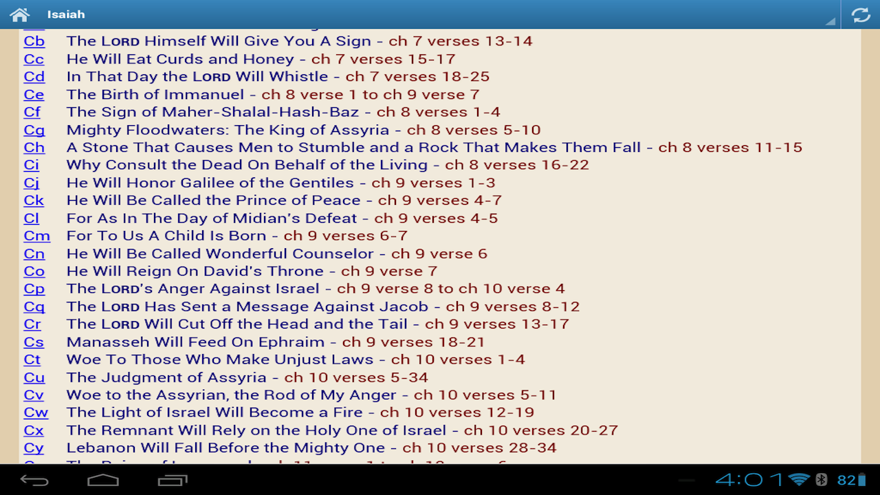 Bible Devotional Commentary- screenshot