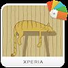 XPERIA™ Stripey Cat Theme APK