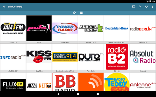 VRadio - Online Radio Player  screenshots 8