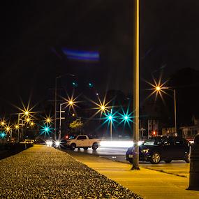 Street Light Long Exposure by Harish Kumar K - Buildings & Architecture Other Exteriors ( exposure, canon, street, night, 600d, long, longexposure, light, photography )