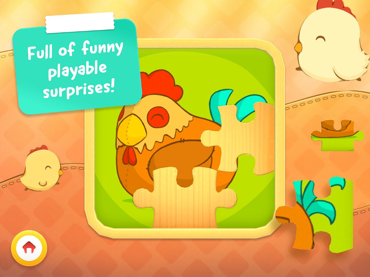 Animal Puzzle - Game for toddlers and children- screenshot
