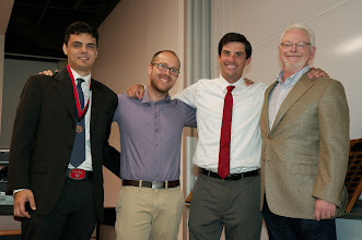 Photo: Grant Weiss, Joshua Kaiser, Joseph Aldahl and Larry Allen