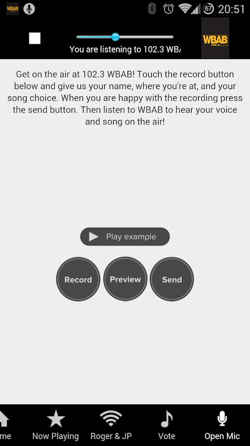 WBAB - screenshot