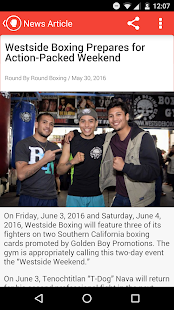 Boxing News, Videos, & Social Media - náhled