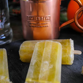 Sunrise Over Moscow Mule and Popsicle with Smirnoff Vodka Recipe